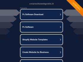 crearesitowebgratis.it