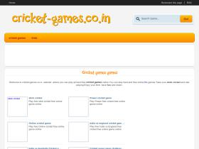 cricket-games.co.in