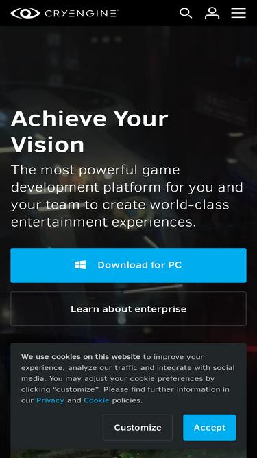 Cryengine com Analytics - Market Share Stats & Traffic Ranking