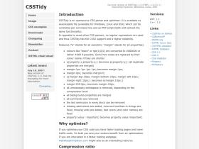csstidy.sourceforge.net