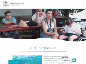 curacaodolphintherapy.com