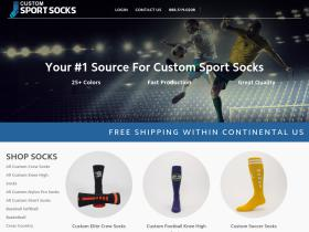 customsportsocks.com