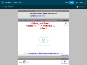 cyber-warfare.livejournal.com