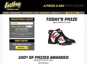dailysweeps.eastbay.com