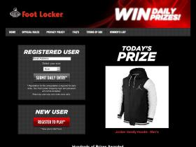 dailysweeps.footlocker.com
