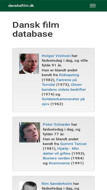 dansk film database