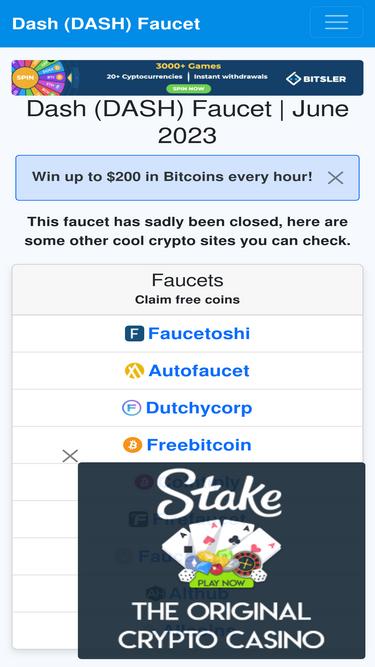 Dash-faucet com Analytics - Market Share Stats & Traffic Ranking