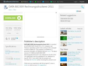 data-becker-rechnungsdruckerei-2011.software.informer.com