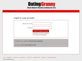 dating.datinggranny.com