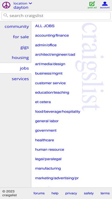 Dayton Craigslist Org Analytics Market Share Data Ranking Similarweb «» press to search craigslist. similarweb
