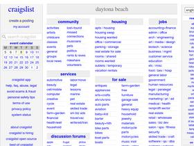 Craigslist beach www com daytona dayton for
