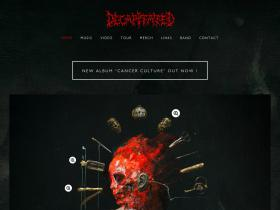 decapitatedband.net