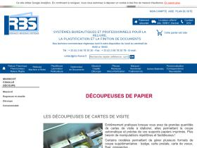 decoupe-papier.rbs-france.fr