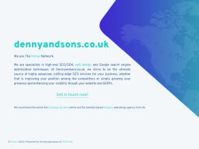 dennyandsons.co.uk