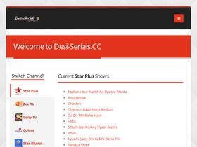 Desi-serials org Analytics - Market Share Stats & Traffic