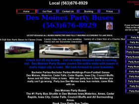 desmoinespartybuses.com