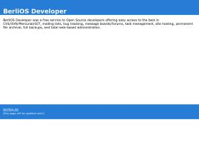 developer.berlios.de