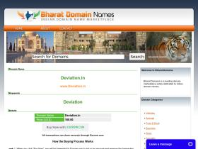 deviation.in