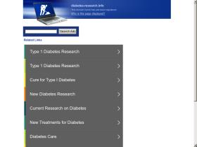 diabetes-research.info