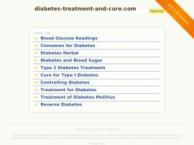 diabetes-treatment-and-cure.com