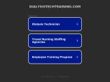 dialysistechtraining.com