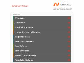 dictionary-for.me