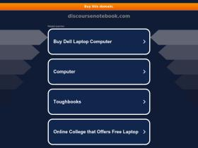 discoursenotebook.com