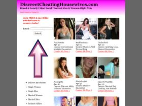 discreetcheatinghousewives.com