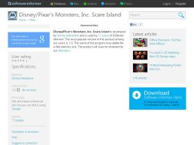 disney-pixar-s-monsters-inc-scare-island.software.informer.com