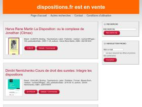 dispositions.fr