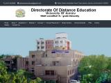 distanceeducationju.in