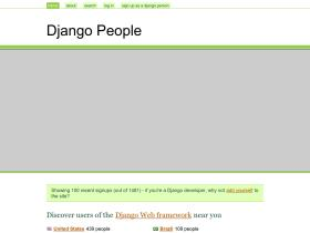 djangopeople.net