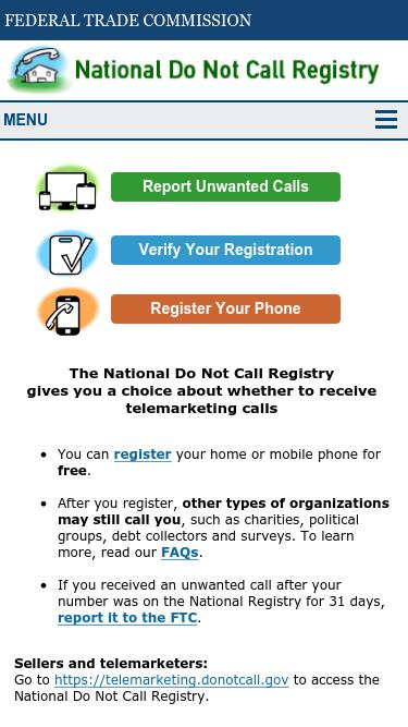 How To Check If A Number Is On The Do Not Call List