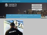 donssecurityservices.com
