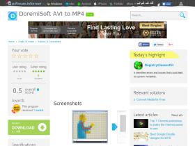 doremisoft-avi-to-mp4.software.informer.com