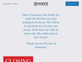 dowsonsshoes.co.nz