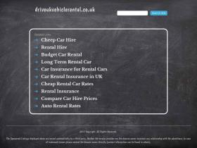 driveukvehiclerental.co.uk