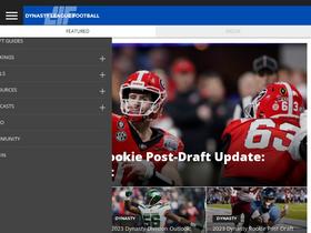Dynastyleaguefootball com Analytics - Market Share Stats & Traffic