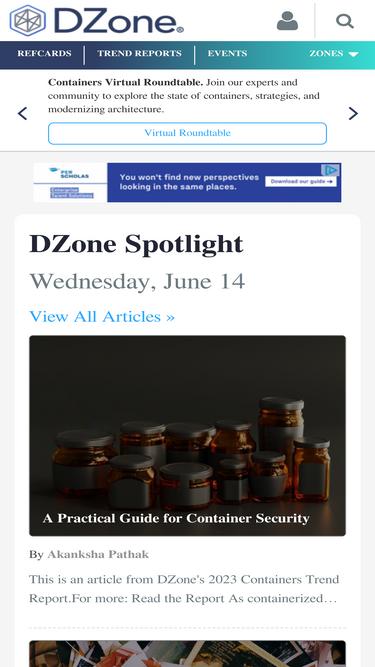 Dzone com Analytics - Market Share Stats & Traffic Ranking
