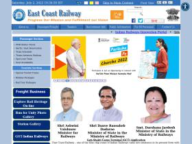 eastcoastrail.indianrailways.gov.in