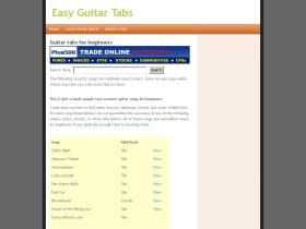 easy-guitar-tabs.co.uk