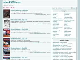ebook3000.com Analytics Stats