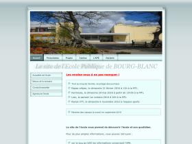 ecolebourgblanc.fr