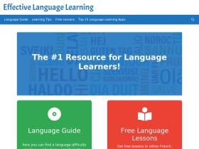 effectivelanguagelearning.com