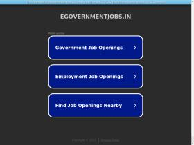 egovernmentjobs.in