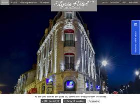 elysee-hotel-chateauroux.com
