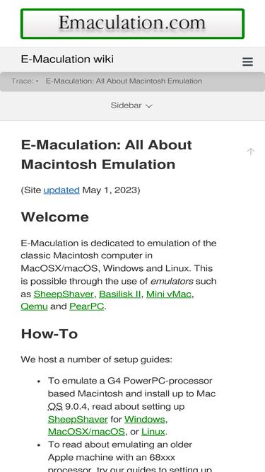 Emaculation com Analytics - Market Share Stats & Traffic Ranking