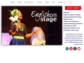 englishonstage.co.il
