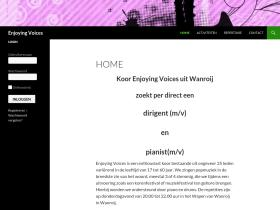 enjoyingvoices.geurts-productions.nl