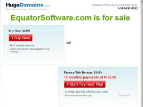 equatorsoftware.com